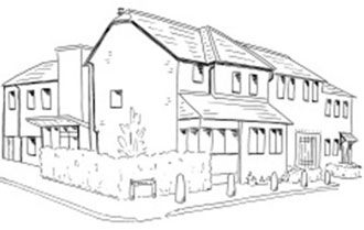 Drawing of Claremont Medical Centre